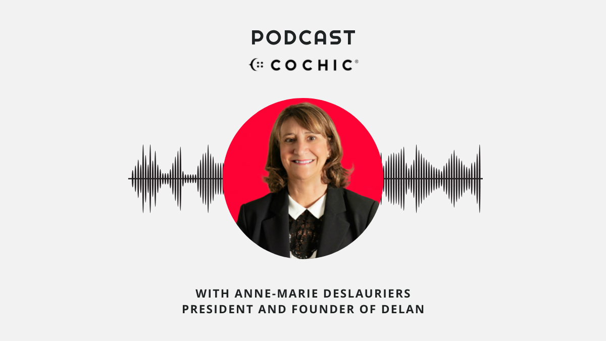 DELAN, guest on Cochic Podcast